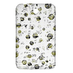 White And Yellow Soul Samsung Galaxy Tab 3 (7 ) P3200 Hardshell Case  by Valentinaart