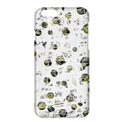 White And Yellow Soul Apple Iphone 6 Plus/6s Plus Hardshell Case by Valentinaart