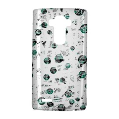 White And Green Soul Lg G4 Hardshell Case by Valentinaart
