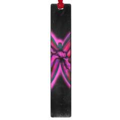Purple Neon Butterfly Large Book Marks by Valentinaart