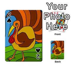 Thanksgiving Turkey  Playing Cards 54 Designs  by Valentinaart