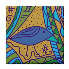 Blue Bird Tile Coasters by Valentinaart