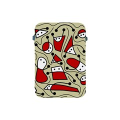 Playful abstraction Apple iPad Mini Protective Soft Cases by Valentinaart