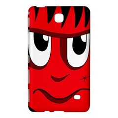 Halloween Frankenstein   Red Samsung Galaxy Tab 4 (8 ) Hardshell Case  by Valentinaart