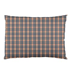Chequered Plaid Pillow Case (two Sides) by olgart
