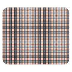 Chequered Plaid Double Sided Flano Blanket (small)  by olgart