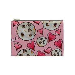 Chocolate Chip Cookies Cosmetic Bag (medium)  by BubbSnugg