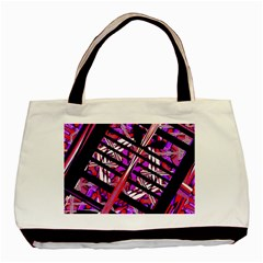 CUT OUT Basic Tote Bag (Two Sides) by MRTACPANS