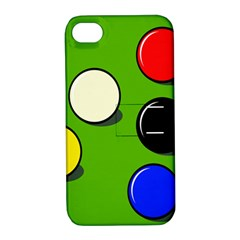 Billiard  Apple Iphone 4/4s Hardshell Case With Stand by Valentinaart