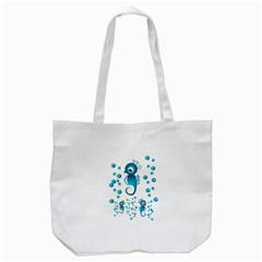 Seahorsesb Tote Bag (white) by vanessagf