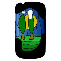 Landscape Samsung Galaxy S3 MINI I8190 Hardshell Case by Valentinaart