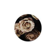 Roses Flowers Golf Ball Marker (4 Pack) by vanessagf