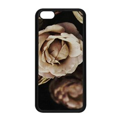 Roses Flowers Apple Iphone 5c Seamless Case (black) by vanessagf