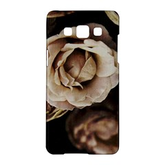 Roses Flowers Samsung Galaxy A5 Hardshell Case  by vanessagf