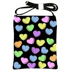 Valentine s Hearts Shoulder Sling Bags by BubbSnugg