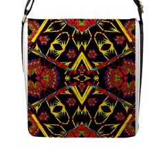 ,,,,,nk Nk Uiki Flap Messenger Bag (l)  by MRTACPANS