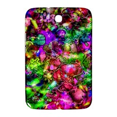 Pink Floral Abstract Samsung Galaxy Note 8 0 N5100 Hardshell Case  by KirstenStar