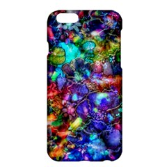 Blue Floral Abstract Apple Iphone 6 Plus/6s Plus Hardshell Case by KirstenStar