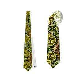 Camo Abstract Shell Pattern Neckties (one Side)  by TanyaDraws