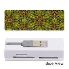 Camo Abstract Shell Pattern Memory Card Reader (Stick)  by TanyaDraws
