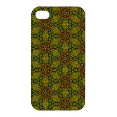 Camo Abstract Shell Pattern Apple Iphone 4/4s Premium Hardshell Case by TanyaDraws