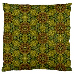 Camo Abstract Shell Pattern Standard Flano Cushion Case (two Sides) by TanyaDraws
