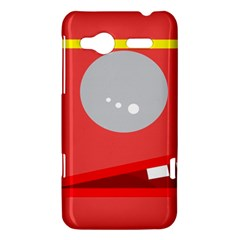 Cute face HTC Radar Hardshell Case  by Valentinaart