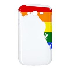 LGBT Flag Map of Florida Samsung Galaxy Grand DUOS I9082 Hardshell Case by abbeyz71