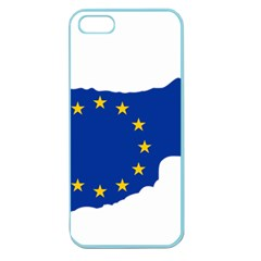 European Flag Map Of Cyprus  Apple Seamless Iphone 5 Case (color) by abbeyz71