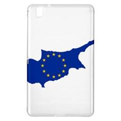 European Flag Map Of Cyprus  Samsung Galaxy Tab Pro 8 4 Hardshell Case by abbeyz71