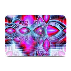 Crystal Northern Lights Palace, Abstract Ice  Plate Mats by DianeClancy