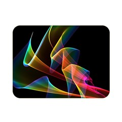 Crystal Rainbow, Abstract Winds Of Love  Double Sided Flano Blanket (mini)  by DianeClancy