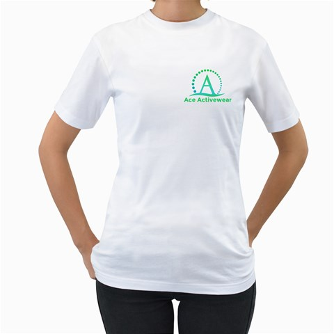By Ace Acro   Women s T Shirt (white)    2qv5f0qr3on7   Www Artscow Com Front