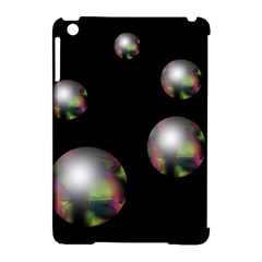 Silver Pearls Apple Ipad Mini Hardshell Case (compatible With Smart Cover) by Valentinaart