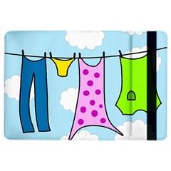 Laundry iPad Air 2 Flip by Valentinaart