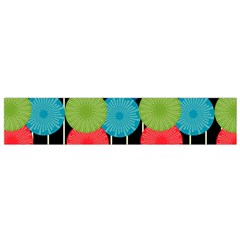 Vibrant Retro Pattern Flano Scarf (small) by DanaeStudio