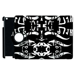 The Only One Is Free Apple Ipad 2 Flip 360 Case by MRTACPANS