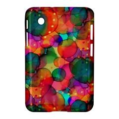 Rainbow Bubbles Samsung Galaxy Tab 2 (7 ) P3100 Hardshell Case  by KirstenStar