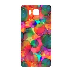 Rainbow Bubbles Samsung Galaxy Alpha Hardshell Back Case by KirstenStar