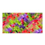 Colorful Mosaic Satin Wrap