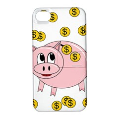 Piggy Bank  Apple Iphone 4/4s Hardshell Case With Stand by Valentinaart
