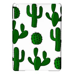 Cactuses Pattern Ipad Air Hardshell Cases by Valentinaart