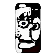 Old man iPhone 6/6S TPU Case by Valentinaart
