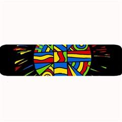 Colorful Bang Large Bar Mats by Valentinaart