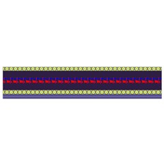 Colorful Retro Geometric Pattern Flano Scarf (small) by DanaeStudio