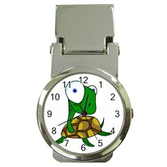 Turtle Money Clip Watches by Valentinaart