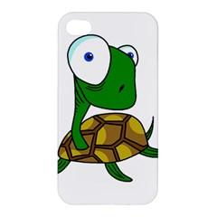 Turtle Apple Iphone 4/4s Premium Hardshell Case by Valentinaart