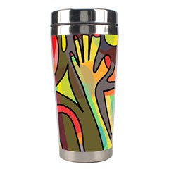 Colorful Dream Stainless Steel Travel Tumblers by Valentinaart