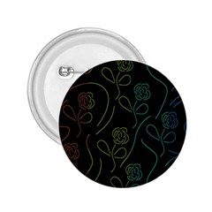 Floral pattern 2.25  Buttons by Valentinaart