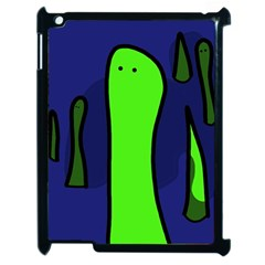 Green Snakes Apple Ipad 2 Case (black) by Valentinaart